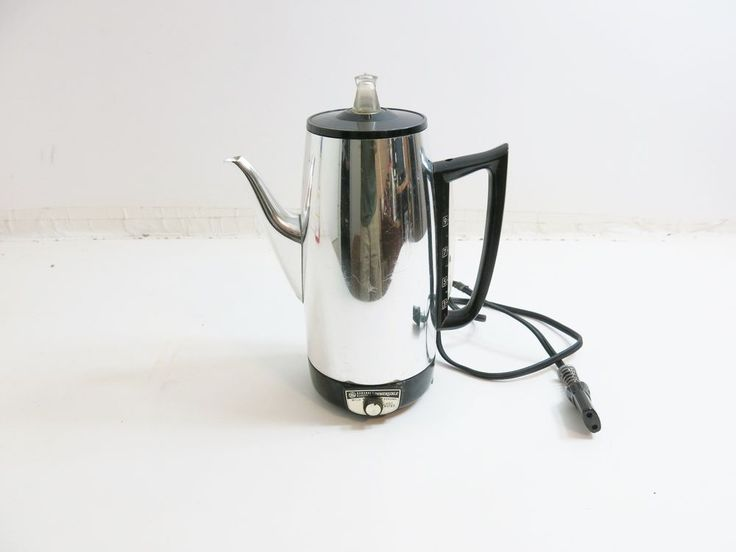 Automatic Electric Coffee Maker : 25+ best ideas about Percolator Coffee Maker on Pinterest Coffee percolator, Ole miss ticket ...