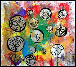 Tekenen en zo: in de stijl van beroemde kunstenaars - Hundertwasser