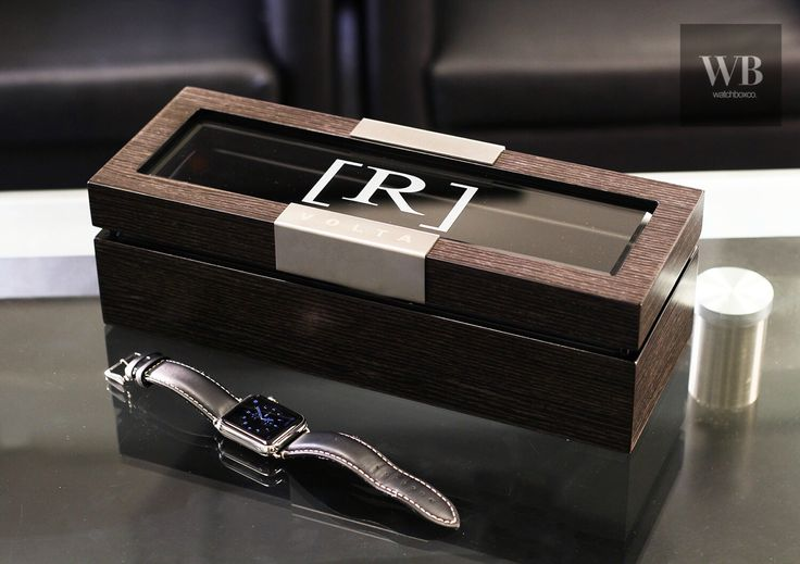 The next best gift idea for men. Custom personalized watch case makes the perfect gift for the holidays. www.watchboxco.com