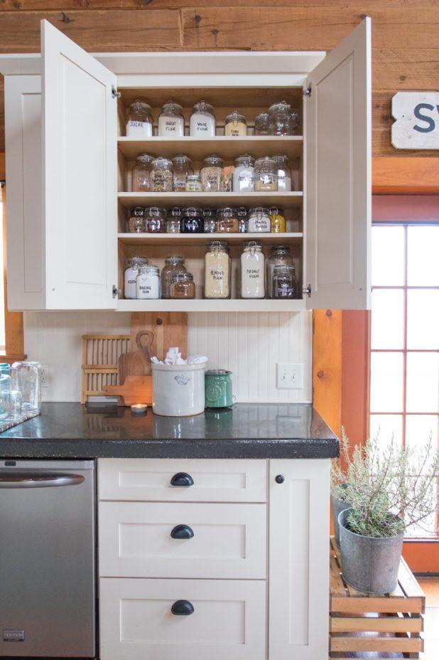 Baking Cupboard Storage Organization Baking Cupboard Glass