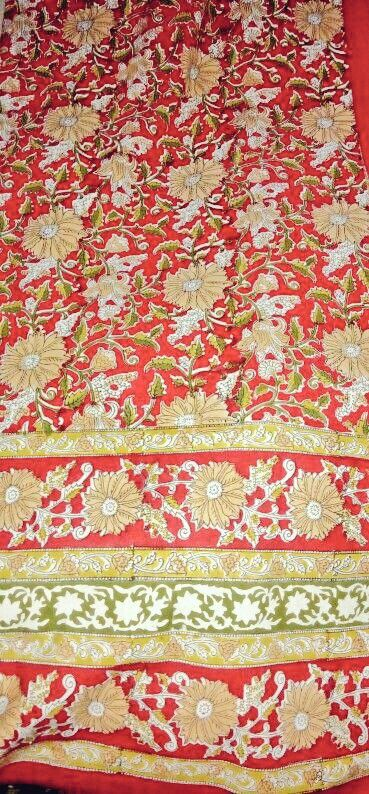 Hand Block Printed Sheet ..