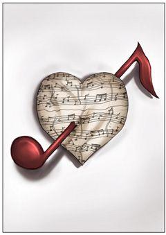 MUSIC HEARTPiano ♪♫♥.....La música es el corazón de la vida. Por ella habla el amor; sin ella no hay bien posible y con ella todo es hermoso. Franz Liszt