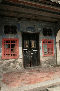 Penang - Fascinating old run down houses