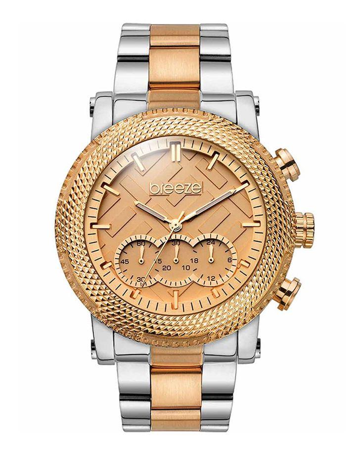 Ρολόι BREEZE Golden Crust Two-Tone 710281.8