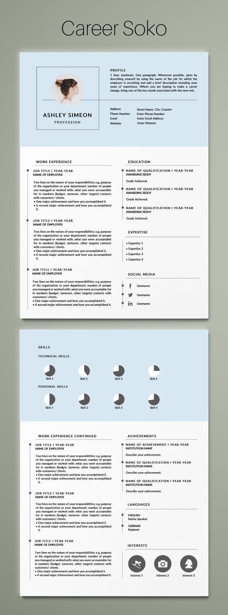 Curriculum Vitae Resume Design Word Resume Template Minimalist Resume 2 Sided Resume Template Resum Resume Design Template Resume Design Minimalist Resume