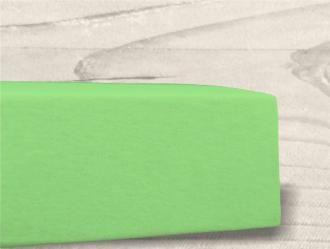 Grasshopper Posteľná plachta Jersey  - Jablko zelená 90x200