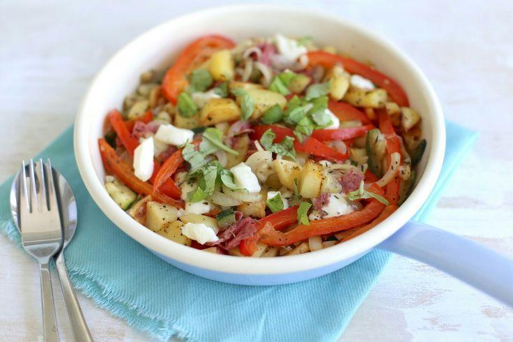 Italiaanse aardappelschotel