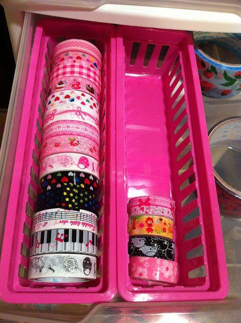 Washi and Deco Tape Storage
