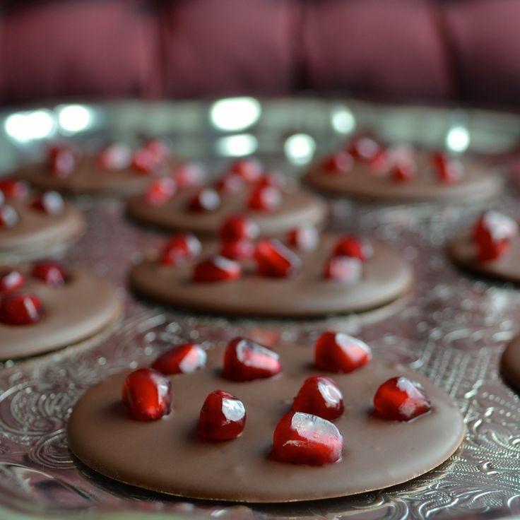 Pomegranate Mendiants from Taste Love & Nourish