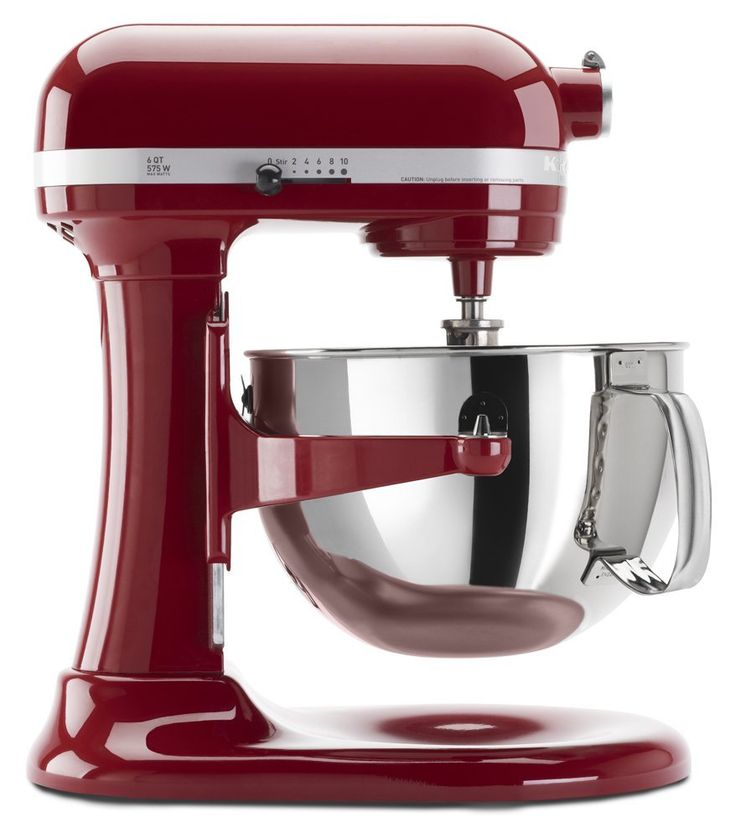 KitchenAid KP26M1XER 6 Qt. Professional 600 Series in Empire Red for a heavy duty mixer that looks good while getting the job done!