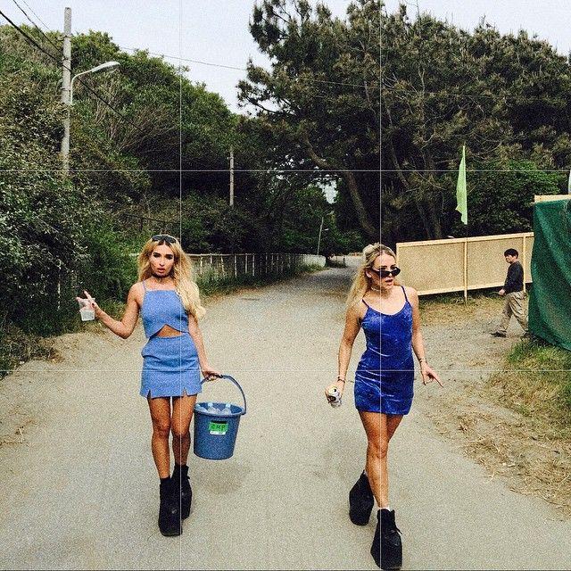 Rebecca & Fiona @rebeccafiona TOKYO #music #djs May 2015