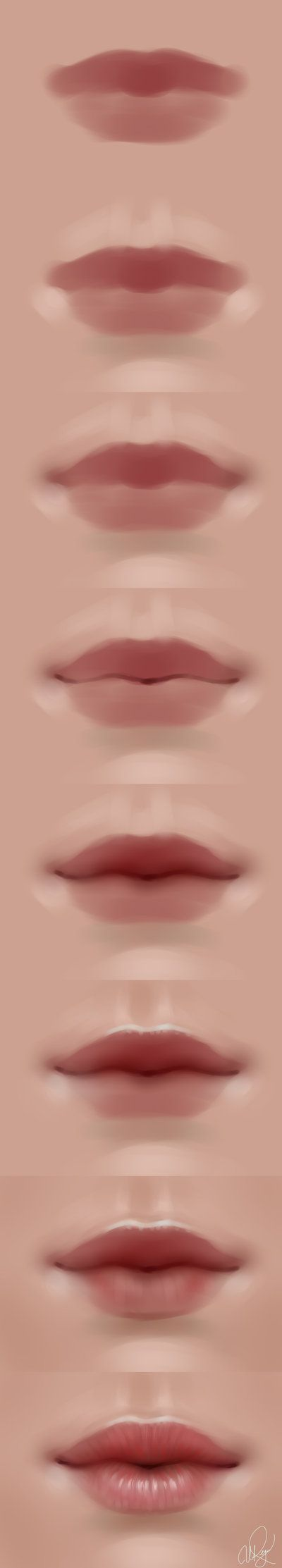 lips walkthrough by *Selenada on deviantART via cgpin.com