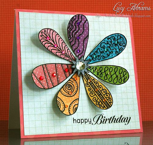 108 Best Images About Zentangle Cards On Pinterest