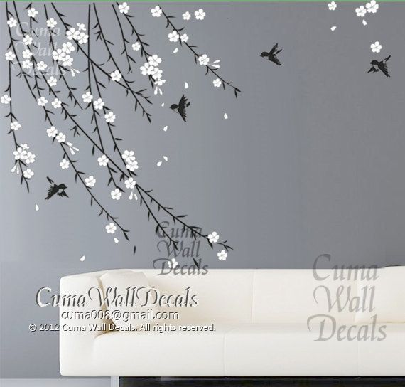 Best Wall Stickers Images On Pinterest Babies Nursery Baby - Custom vinyl wall decals flowers