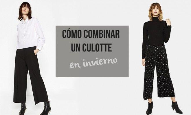 Cómo combinar un culotte en invierno (y no morir en el intento)