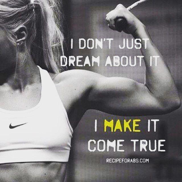 Ook moet ik trainen om mijn doel te bereiken
