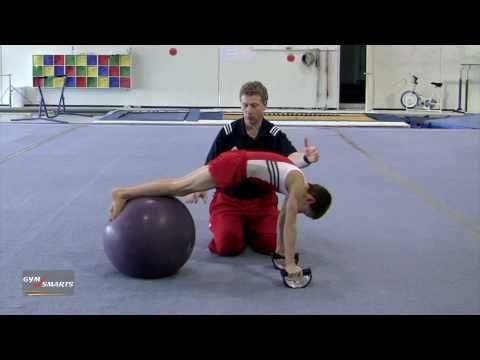 Core Strength for Press to Handstand - Kevin Mazeika - YouTube
