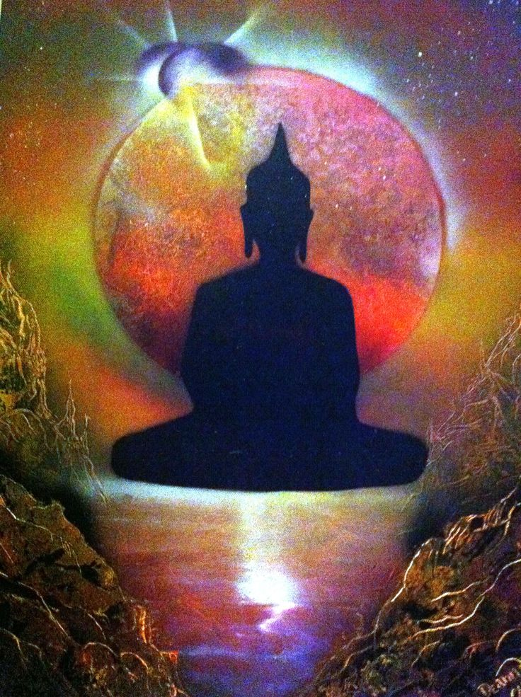 Buddha on Canvas..☮