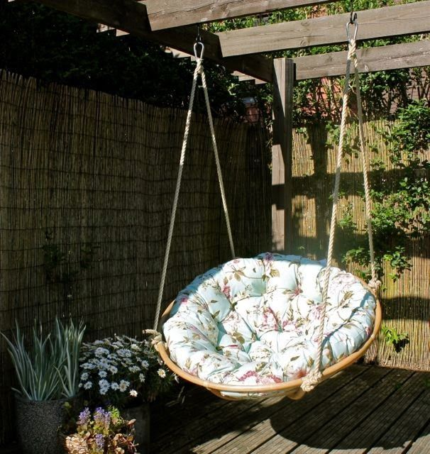 HOME & GARDEN: 20 Papasan Chairs pour être en vacances toute l'année !