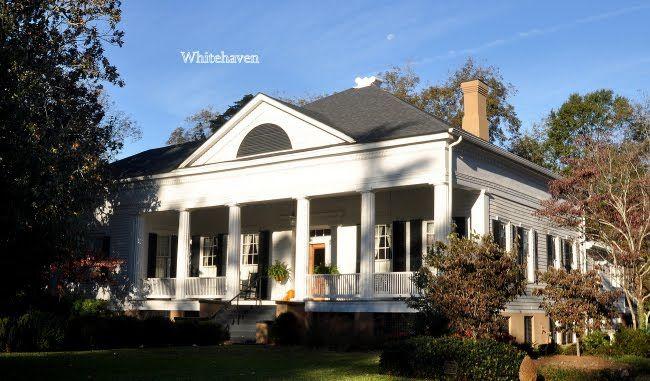 georgia architecture 1800   Whitehaven: Greek Revival Architecture in Madison, GA