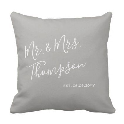 Modern | Everyday Elegance | Contemporary Chic Throw Pillow - modern gifts cyo gift ideas personalize