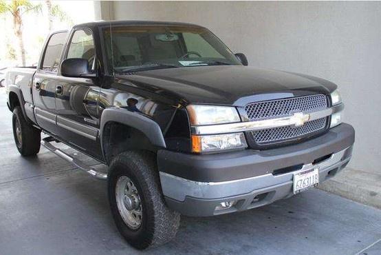 Used 2003 Chevy Silverado 2500HD at Bakersfield Hyundai! Internet price: $12995 #Chevy #Silverado #2500HD #TruckForSale #Bakersfield #BakersfieldHyundai