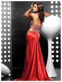 Vestidos catorceveinte.com: Vestido de noche, largo al piso, escote cuello en V, silueta línea A y cintura de tipo imperio 00236568