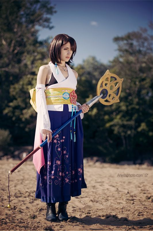 We definitely did a double-take when we saw WorldCosplay's ri-i-na's Yuna (Final Fantasy X-2) cosplay because it's the real deal. Description from pinterest.com. I searched for this on bing.com/images