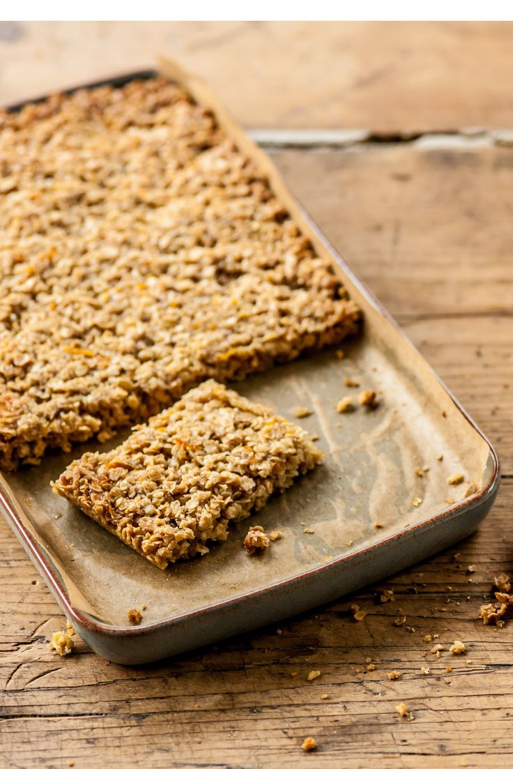 This simple honey flapjack recipe from Alyn Williams is an easy store-cupboard bake, but has a flavour boost from honey and orange zest. The flapjacks on their own are perfect for picnics or packed lunches, but you could also turn them into a delicious dessert by serving with Williams' easy frozen yoghurt recipe. Keep the flapjacks stored in an airtight container to keep them fresh once baked and cooled.