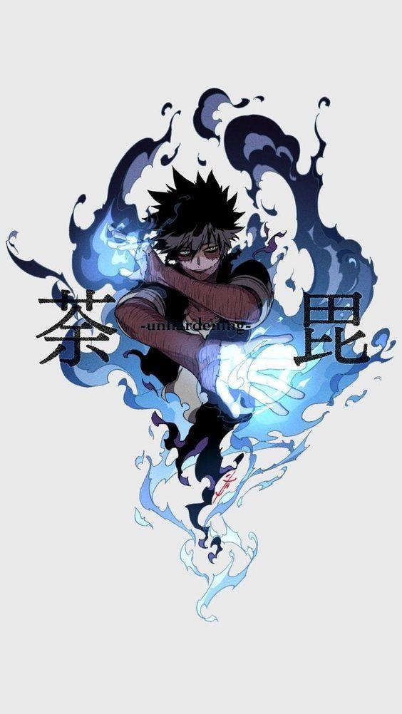 My Hero Academia // BNHA // Dabi Anime, Boku no hero