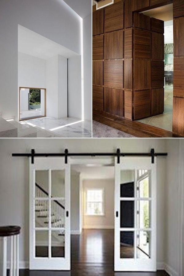 Exterior Doors With Glass Solid Wood Front Doors For Homes 30 Inch Frosted Glass Interior Door Houten Voordeuren Deuren Interieur Design