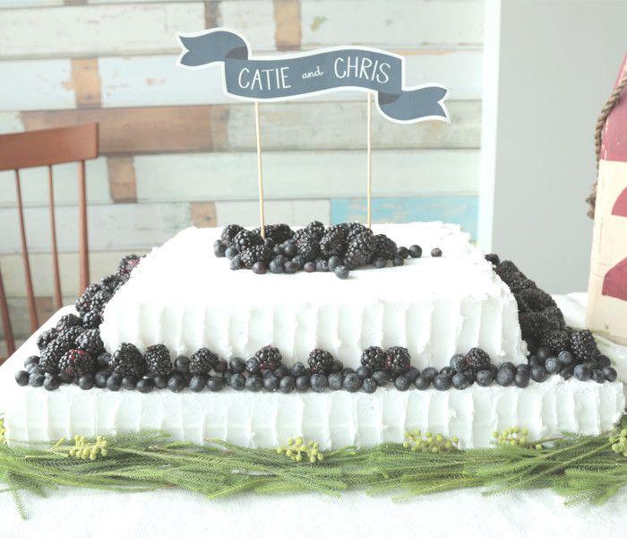 6 Easy DIY Wedding Cake Ideas