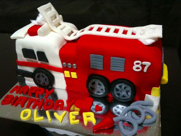 Fire Engine Cake by The Vanilla Store To request a quote please email us at info@thevanillastore.com.au