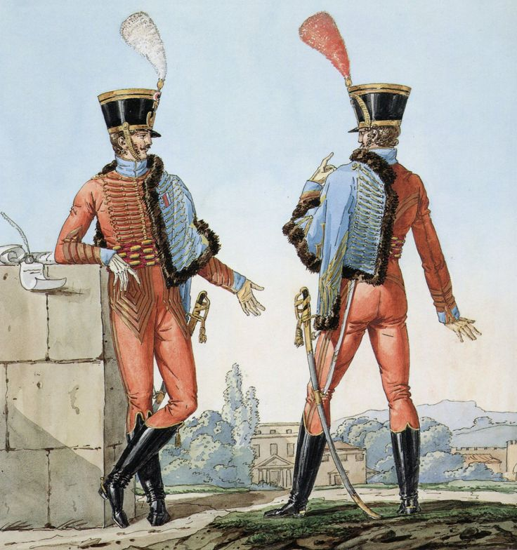 French Army 1812 9th Regiment of Hussars by Vernet