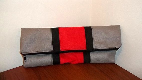 SALE Prices already reduced Fold over handbag clutch by ILAJLA, $26.00