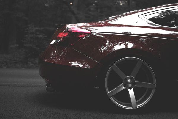 Honda Accord coupe. by Cameron Jackson