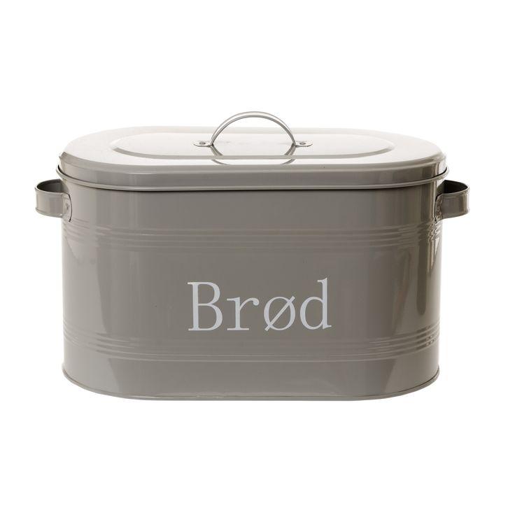 Brødboks Ranveig grå- my bread container :)