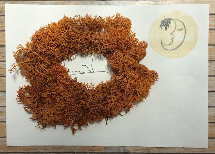 fox sleeping / Art Decoration / Animal Art by ludmilu on Etsy