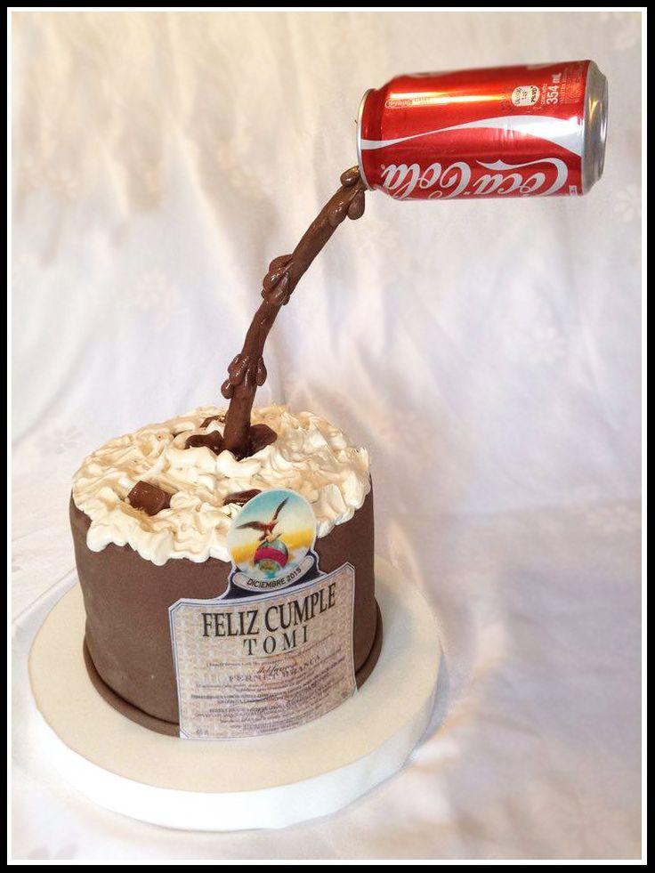 Torta Fernet con Coca! https://www.facebook.com/HappilyReposteriaArtesanal/