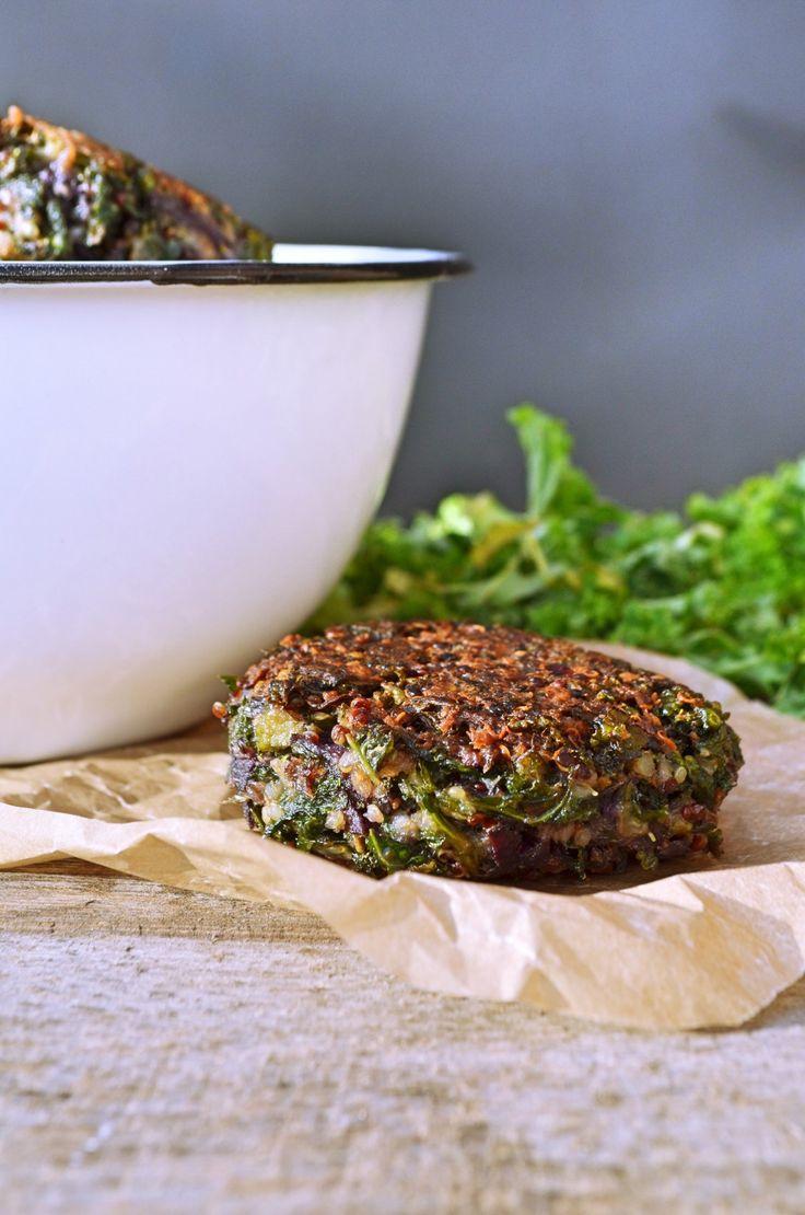 Grünkohl Quinoa Buletten - vegetarisch | foodistas.de