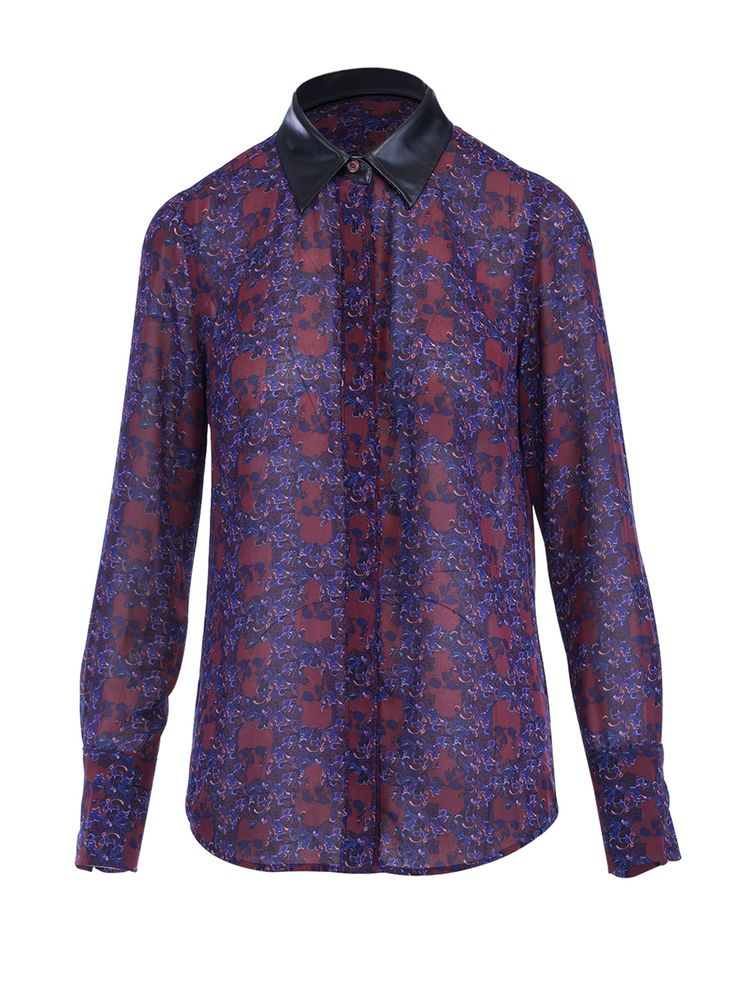 Skull Paisley Punk-Chic Blouse House Of Harlow 1960