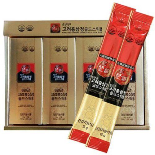 korea red ginseng extract gold stick plus 420g 15g x 28sticks