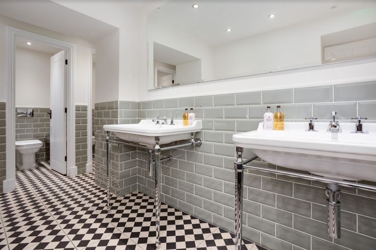 BathroomsbyRyanWaine redesigned the bathrooms for a popular Lancashire Inn using items from the Crosswater 'Waldorf' range