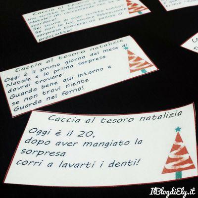 Caccia al tesoro di Natale per bambini da stampare