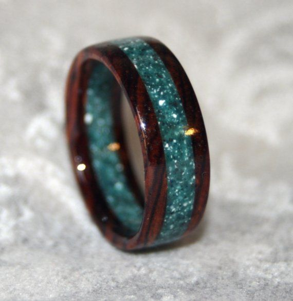 Turquoise + brown + SPARKLES(!) = love