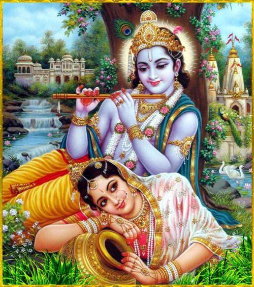 ✨ RADHA KRISHNA ✨ Artist: Yogendra Rastogi Hare Krishna Hare Krishna Krishna…