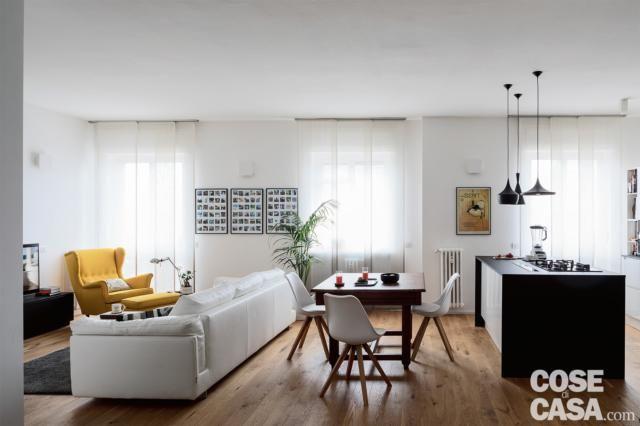Scopri le foto di cucine a vista, con soluzioni moderne e di fascino sul sito living del corriere della sera Pin Su Home Decor
