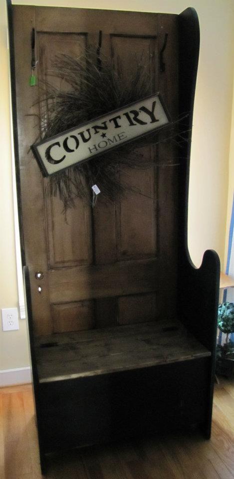 1000 Images About Old Door Hall Tree On Pinterest Door