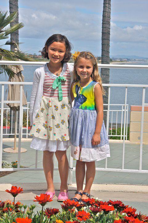 dumbo and aurora rabbit - PiNk tomaTiNa little girl dresses