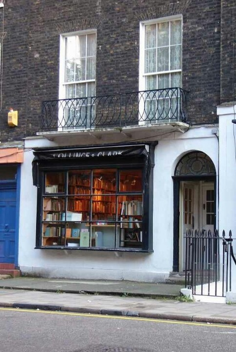 The real bookstore location for outdoor shots of Black Books